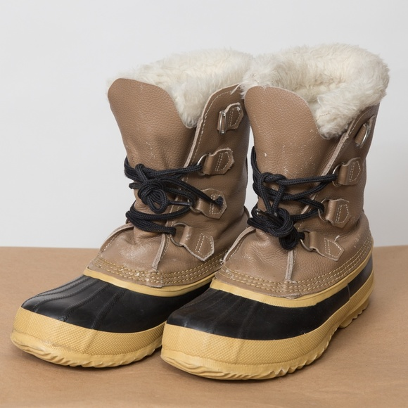 Sorel Made In Canada Winter Snow Boots Womens